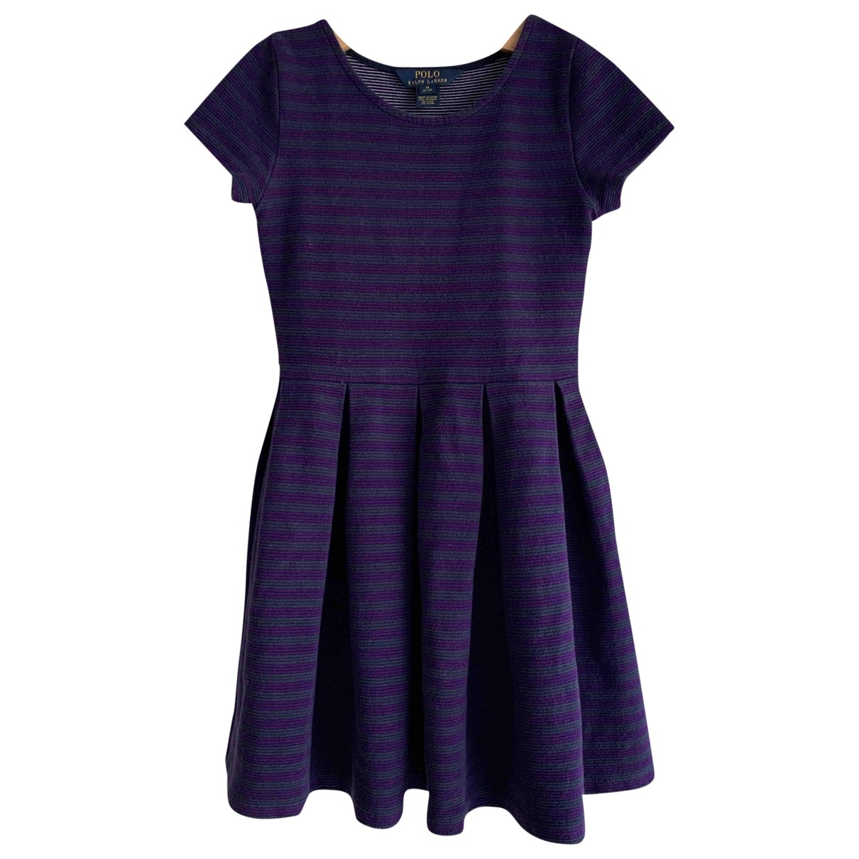 Polo Ralph Lauren \N Blue Cotton dress for Kids 8 years - up to 128cm FR