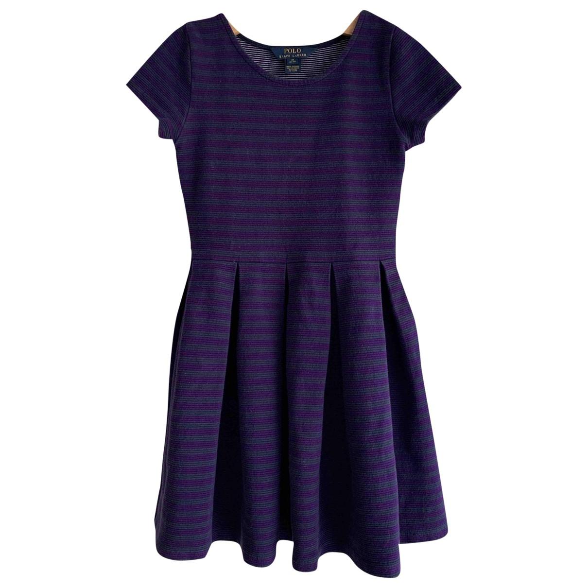 Polo Ralph Lauren \N Kleid in  Blau Baumwolle