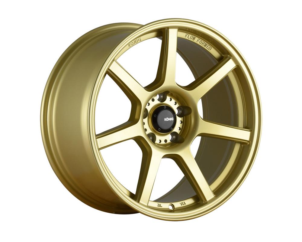 Konig Ultraform Gold Wheel 18x9.5 5x114.3 25
