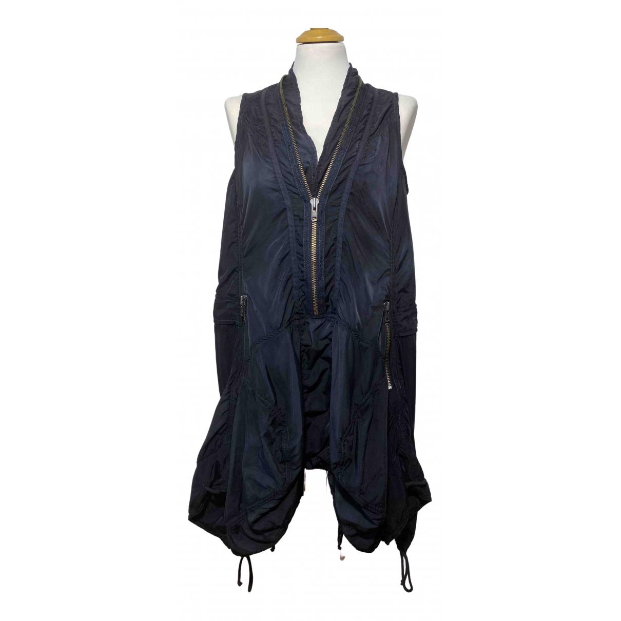 All Saints - Robe   pour femme en coton - noir