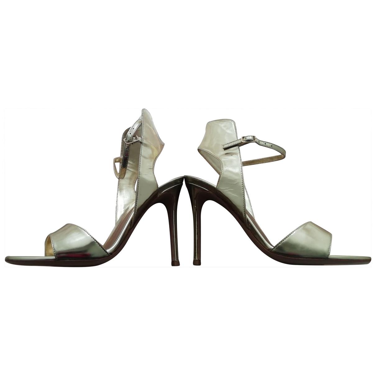 Sandalias de Charol Gianvito Rossi