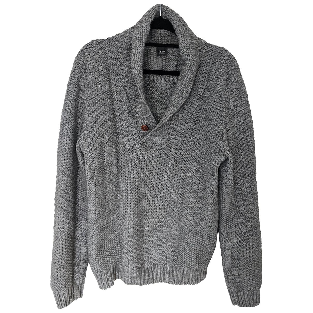 Hugo Boss \N Pullover.Westen.Sweatshirts  Grau