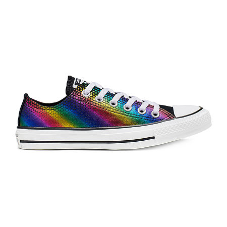 Converse Chuck Taylor All Star Ox Voltage Chevron Womens Sneakers, 5 Medium, Multiple Colors
