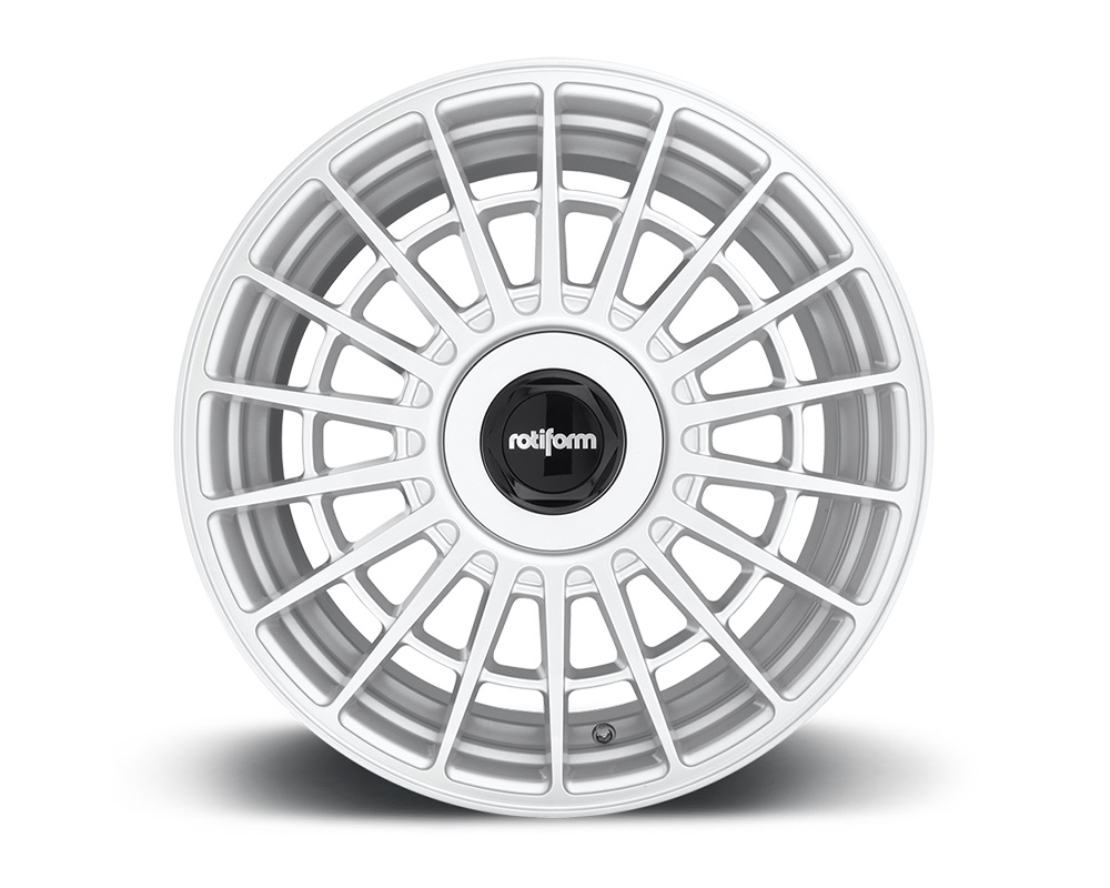 Rotiform R143198507+35 LAS-R Gloss Silver Cast Monoblock Wheel 19x8.5 5x112   5x114.3 35mm