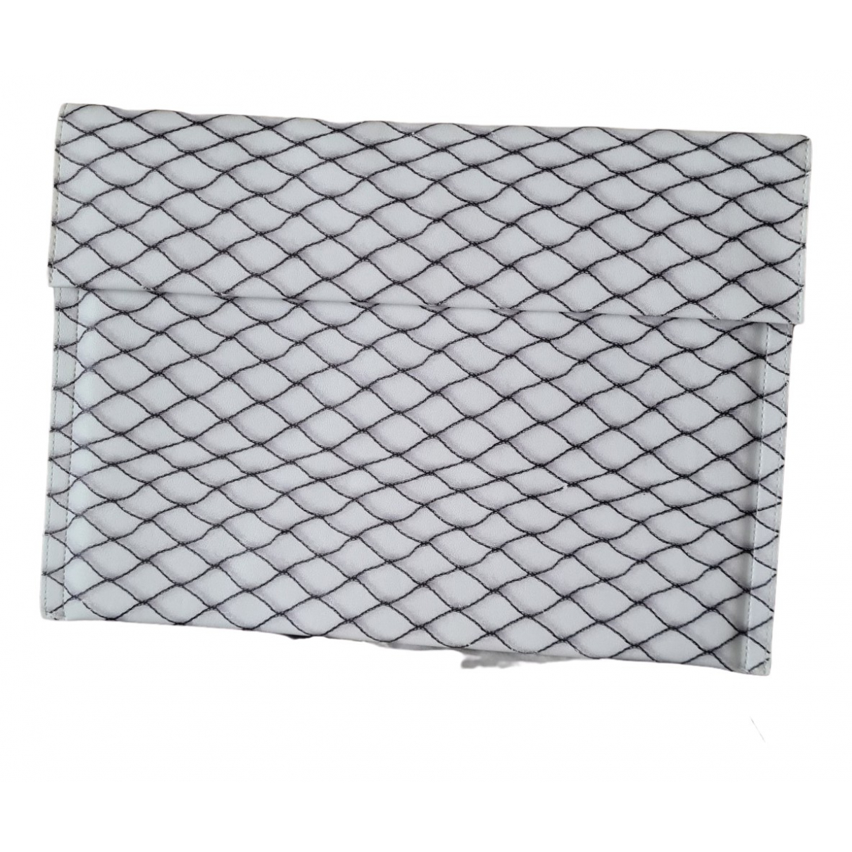 Mm6 \N Clutch in  Weiss Polyester