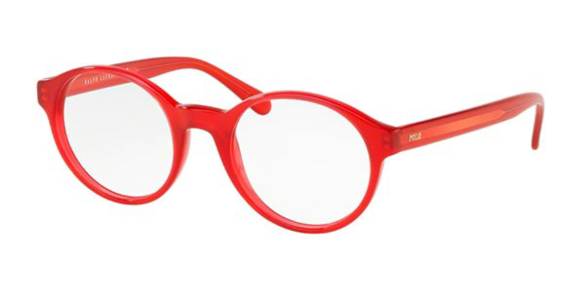 Polo Ralph Lauren PH2185 5688 Men's Glasses Red Size 49 - Free Lenses - HSA/FSA Insurance - Blue Light Block Available