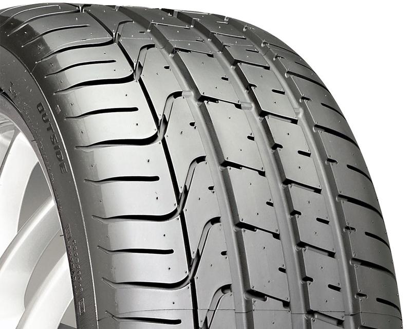 Pirelli DT-42011 P-Zero Tires 305/30/19 102Z Blk