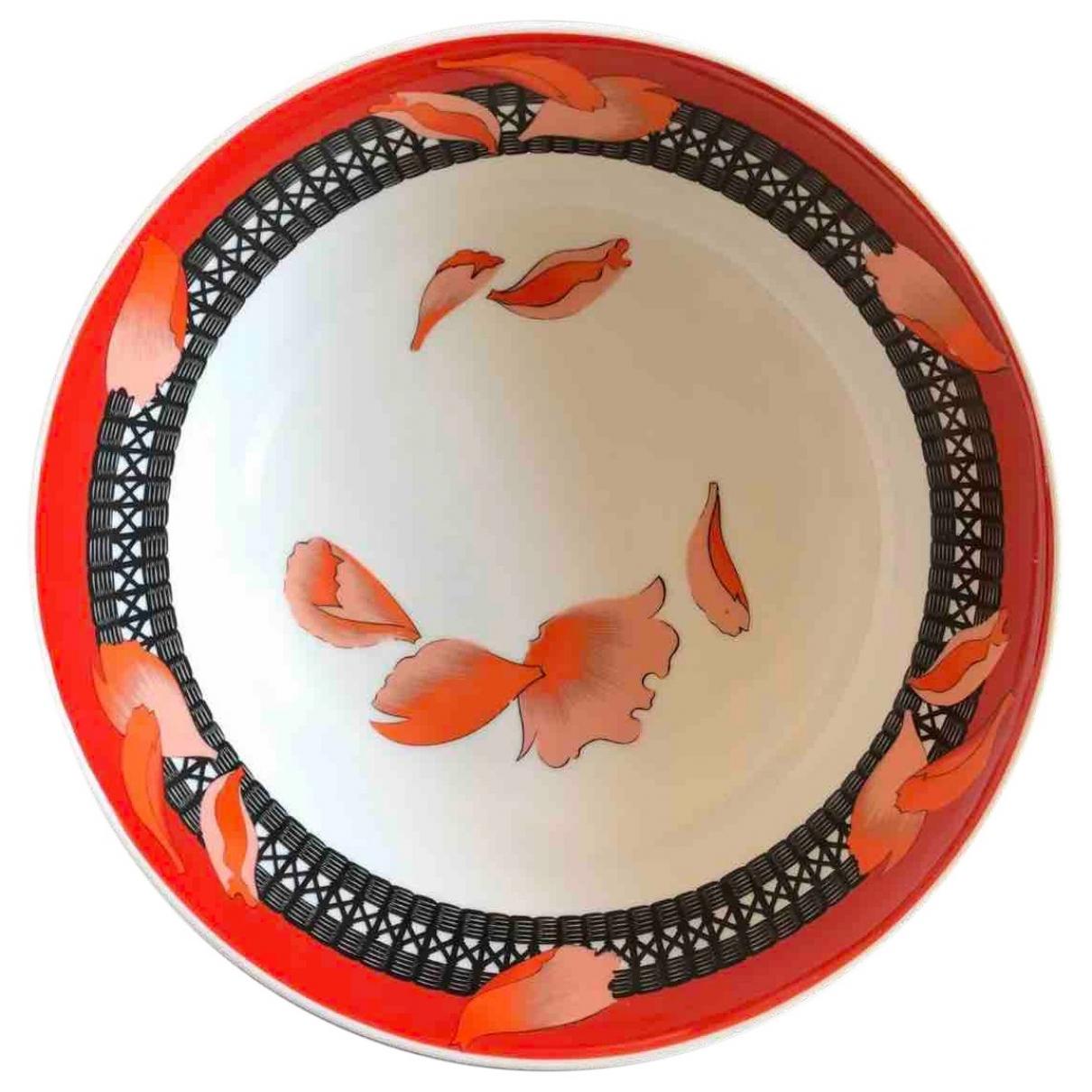Hermes - Arts de la table   pour lifestyle en porcelaine - rouge