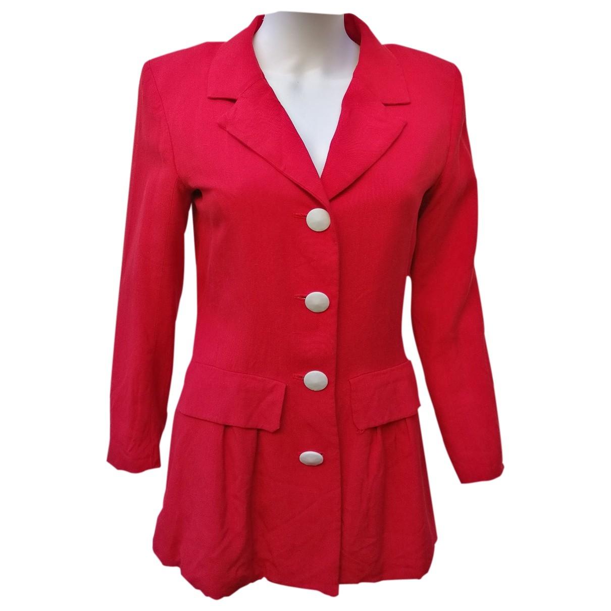 Yves Saint Laurent \N Red jacket for Women 40 FR