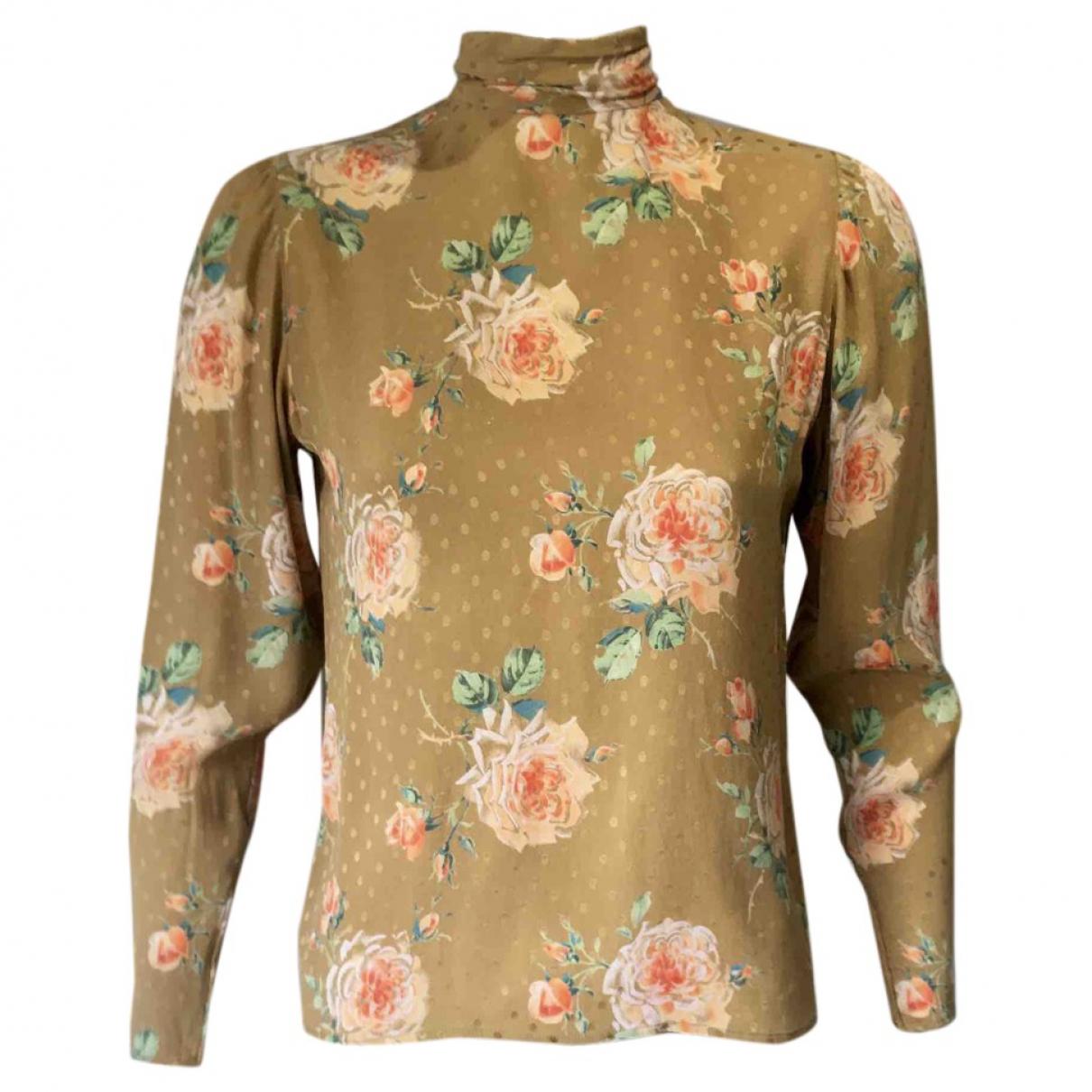 Ungaro Parallele - Top   pour femme en soie - multicolore