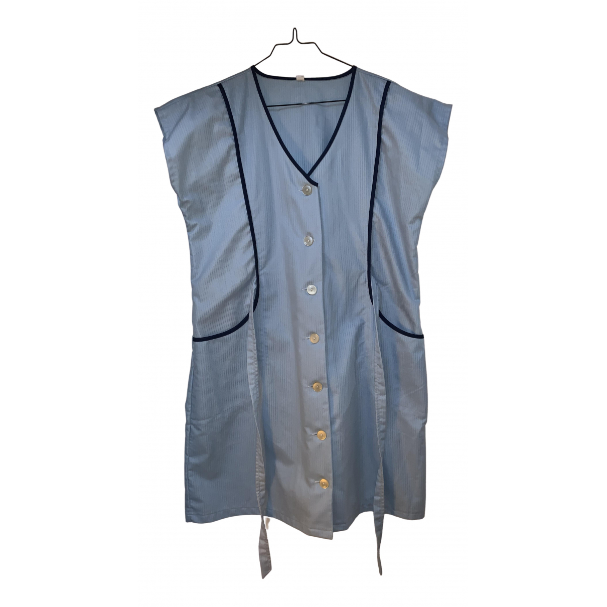 Non Signé / Unsigned N Blue dress for Women S International