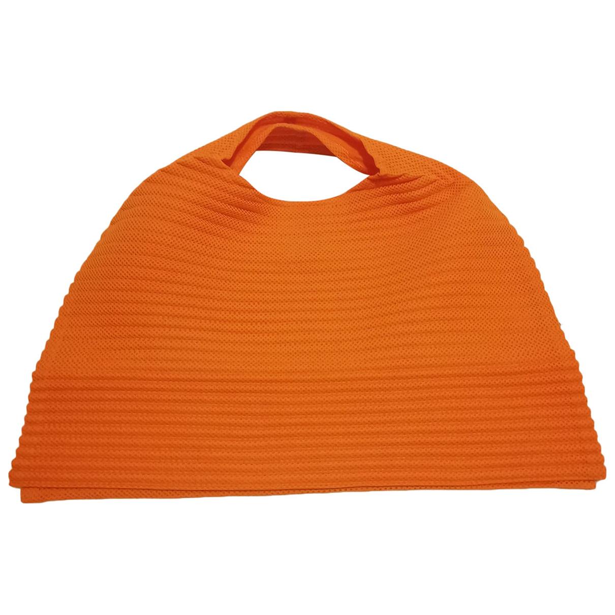 Issey Miyake \N Handtasche in  Orange Polyester