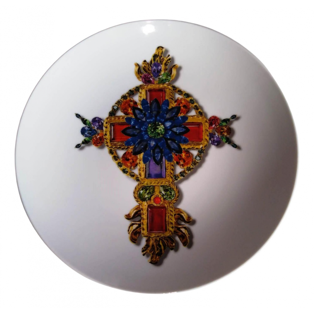 Christian Lacroix \N Tischkultur in  Bunt Keramik