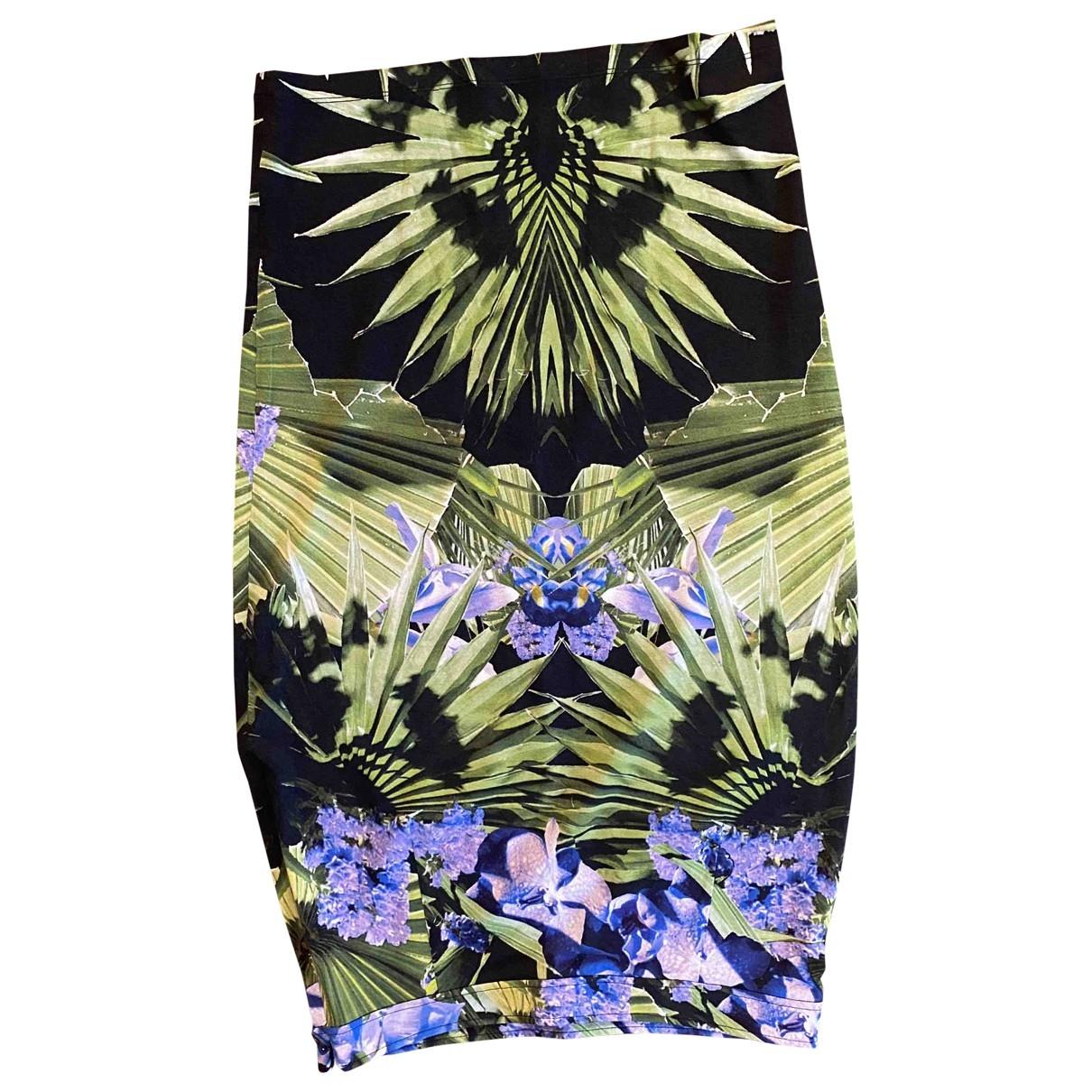 Givenchy - Jupe   pour femme en coton - elasthane - multicolore