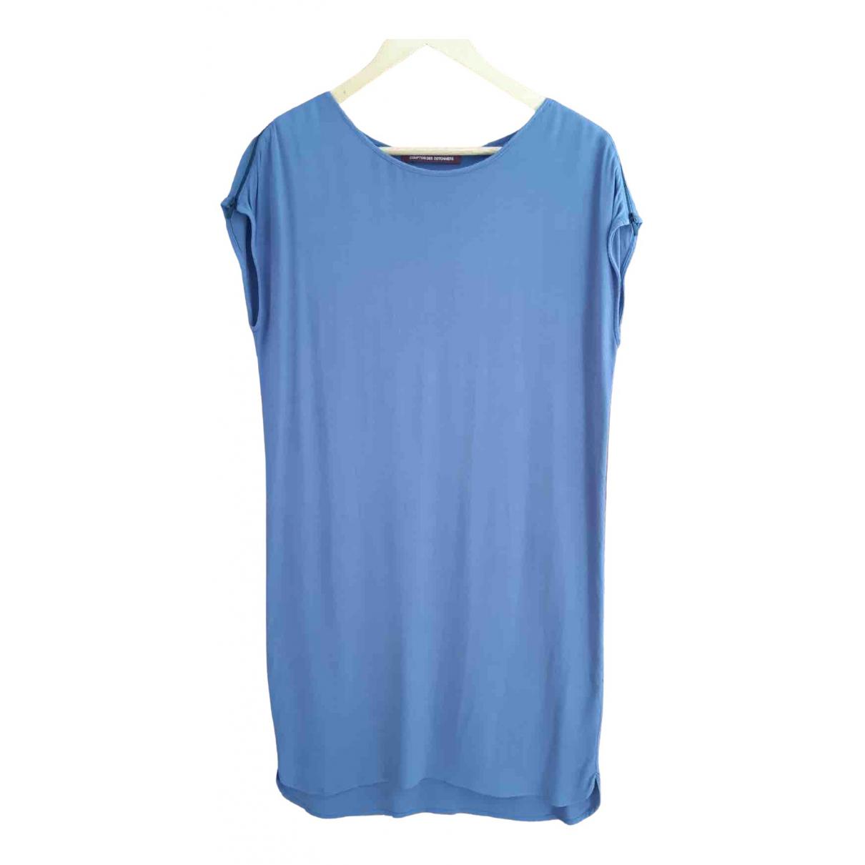 Comptoir Des Cotonniers - Robe   pour femme - bleu