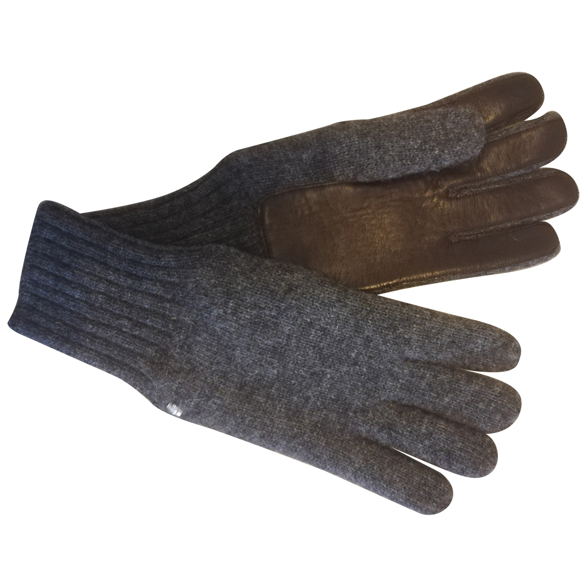 Class Cavalli \N Handschuhe in  Grau Wolle
