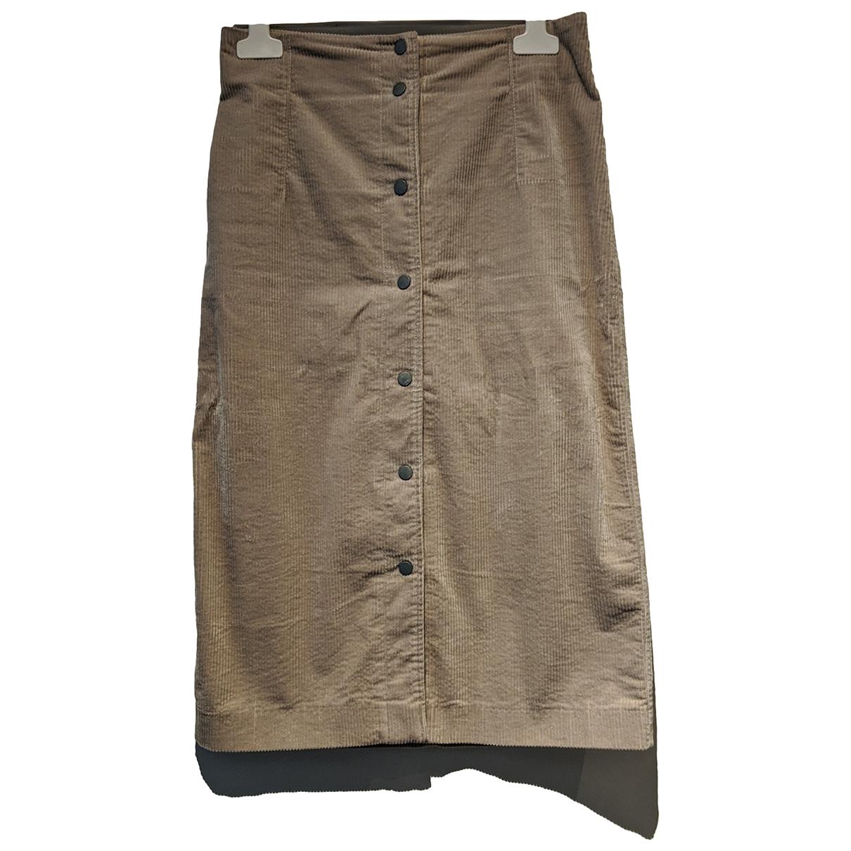 Filippa K - Jupe   pour femme en coton - elasthane