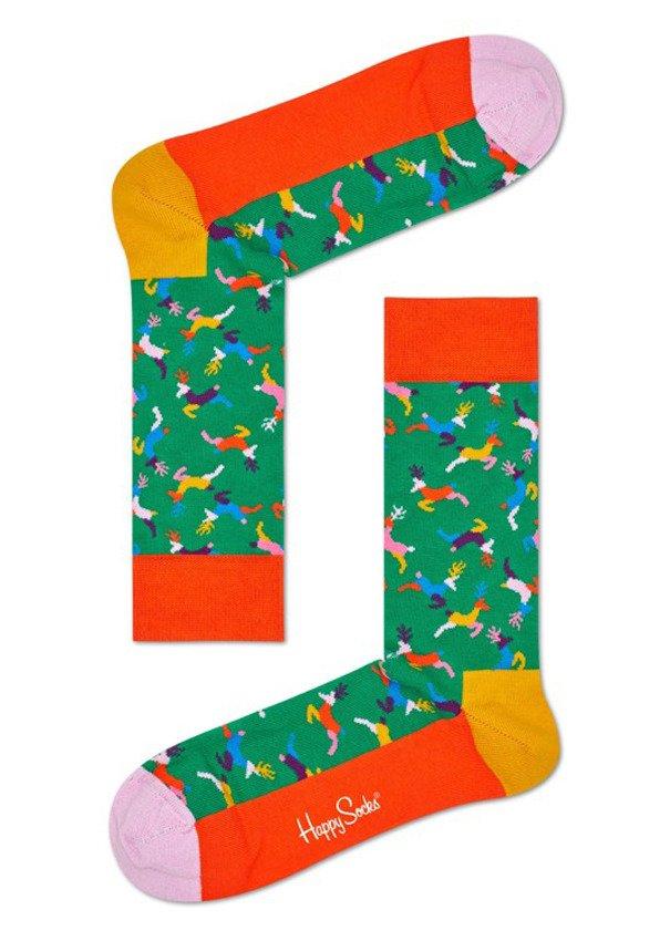 Happy Socks Reindeer REI01 7000