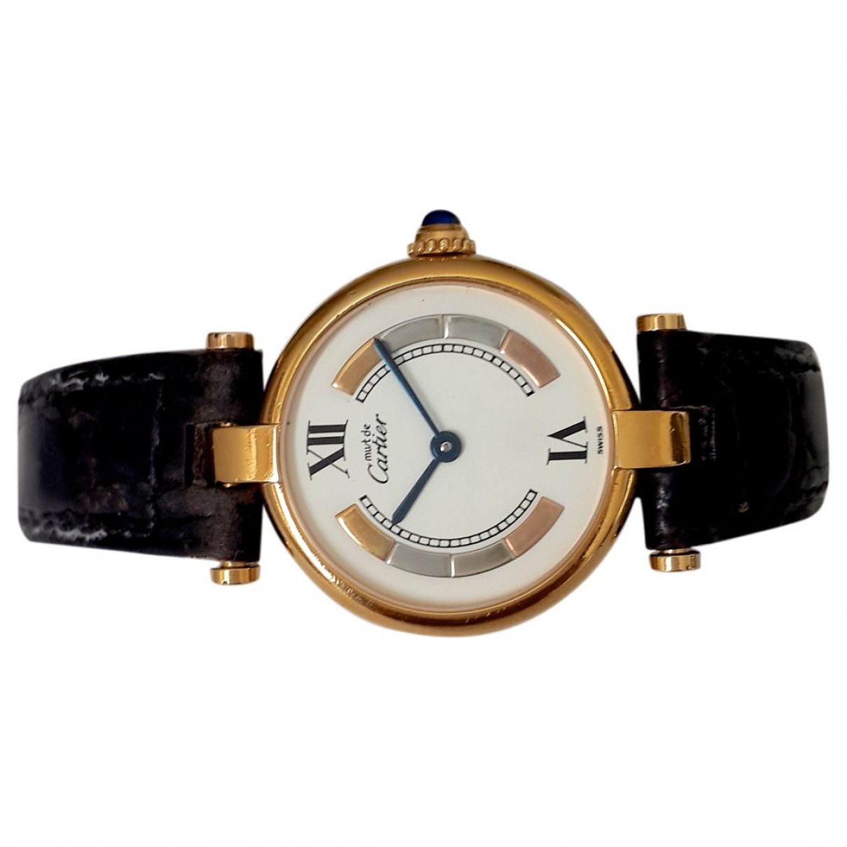 Cartier Must Trinity Silver Gilt watch for Women \N