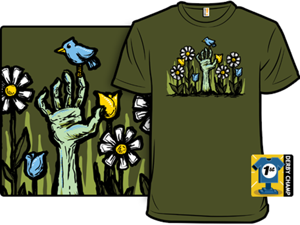 Zombie Garden T Shirt