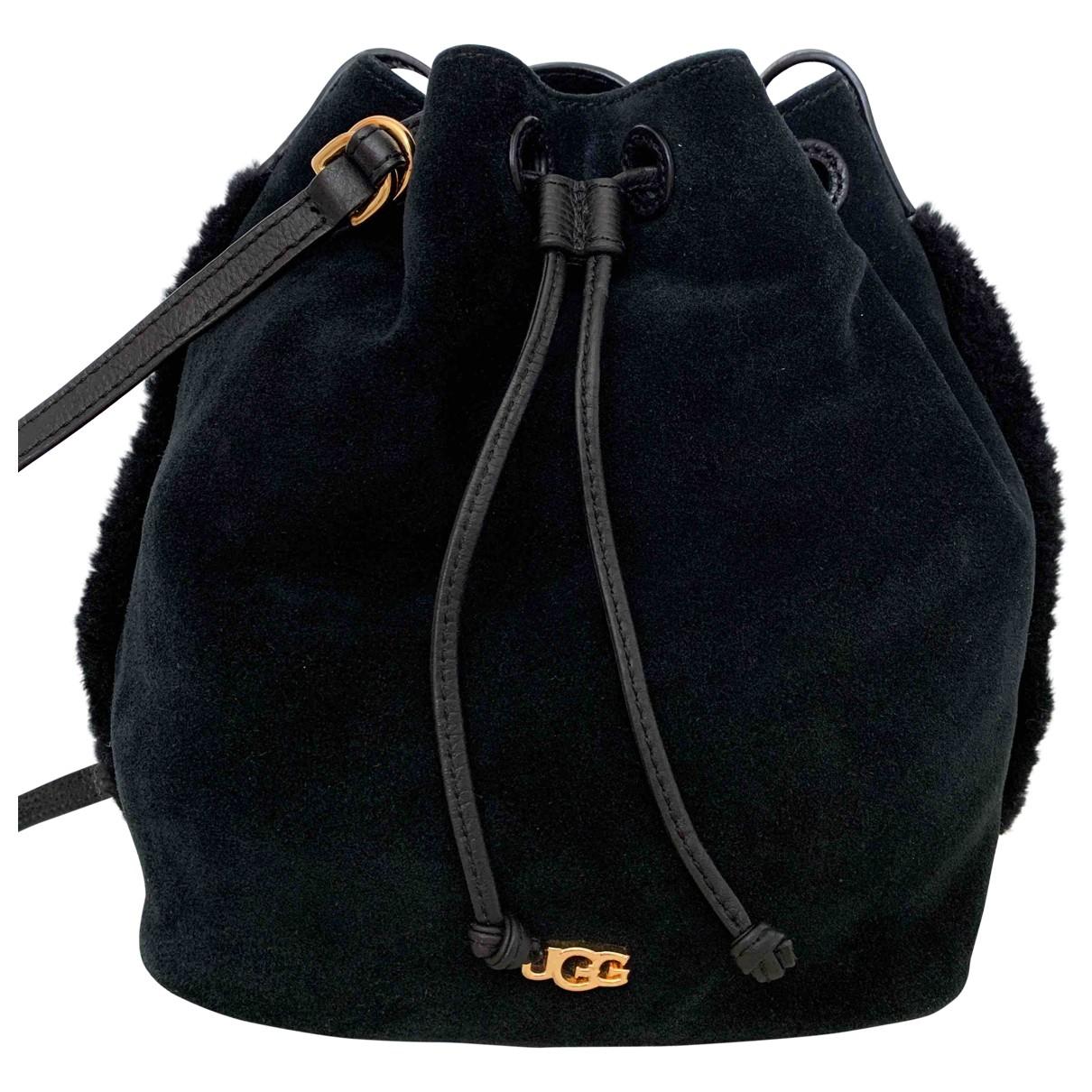 Ugg \N Black Suede handbag for Women \N