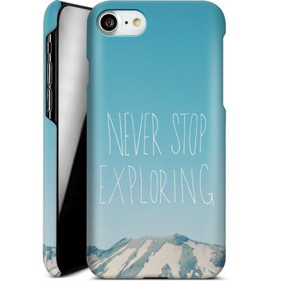 Apple iPhone 7 Smartphone Huelle - Never Stop Exploring von Leah Flores