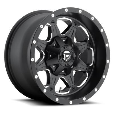 MHT Fuel Offroad D534 Boost, 17x9 Wheel with 5 on 4.5 Bolt Pattern - Black Machined - D53417902645