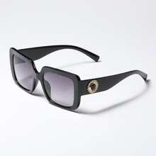 Sonnenbrille mit Strass Dekor und Acryl Rahmen