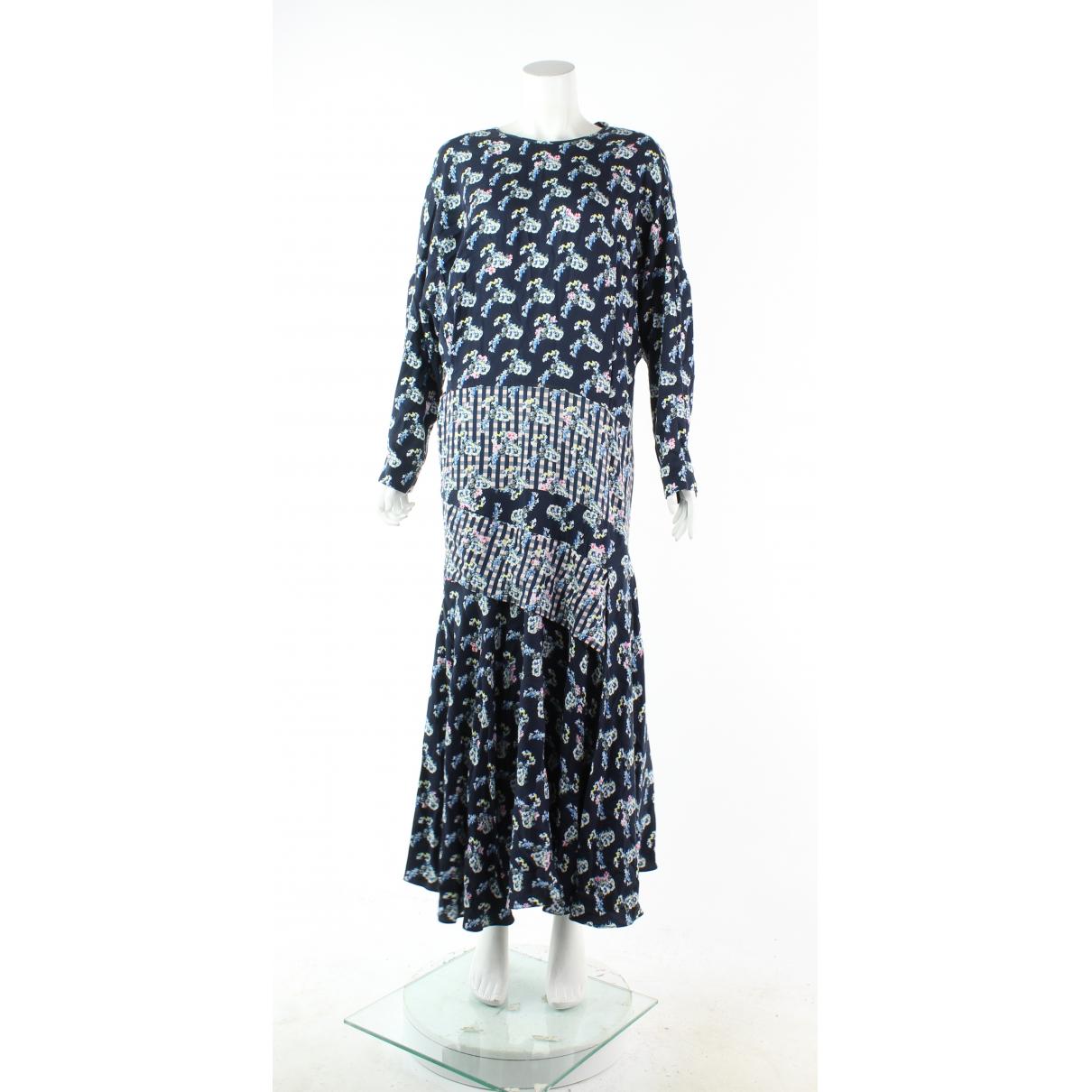 Preen By Thornton Bregazzi - Robe   pour femme en cuir - bleu
