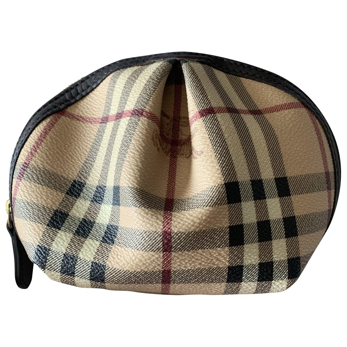Burberry \N Beige Cloth Travel bag for Women \N