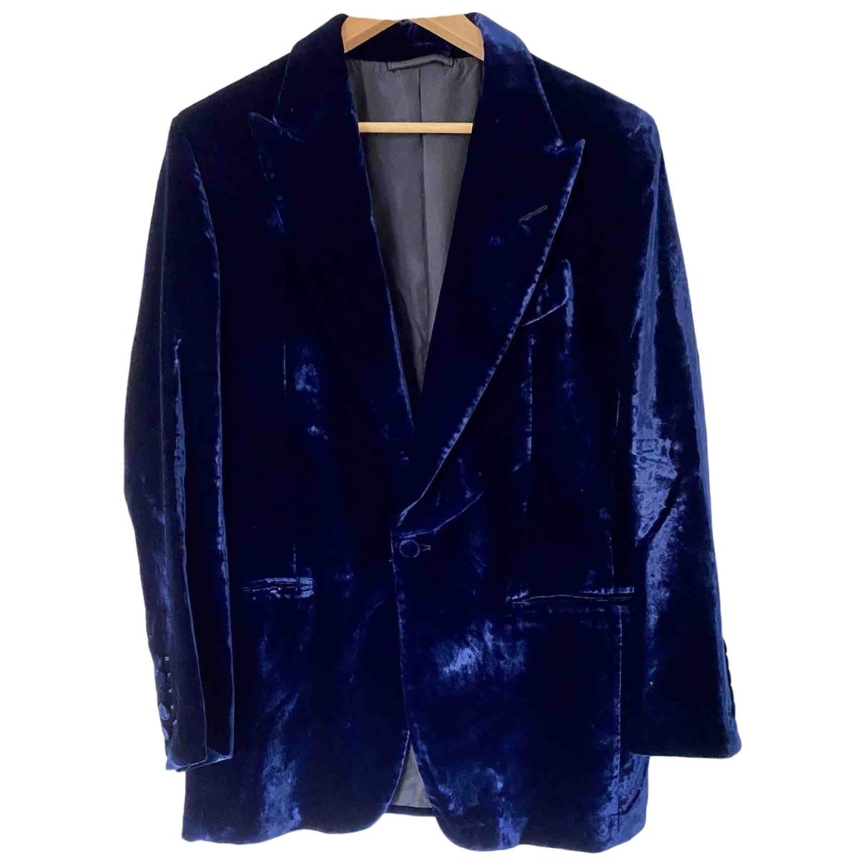 Tom Ford \N Blue jacket  for Men 48 IT