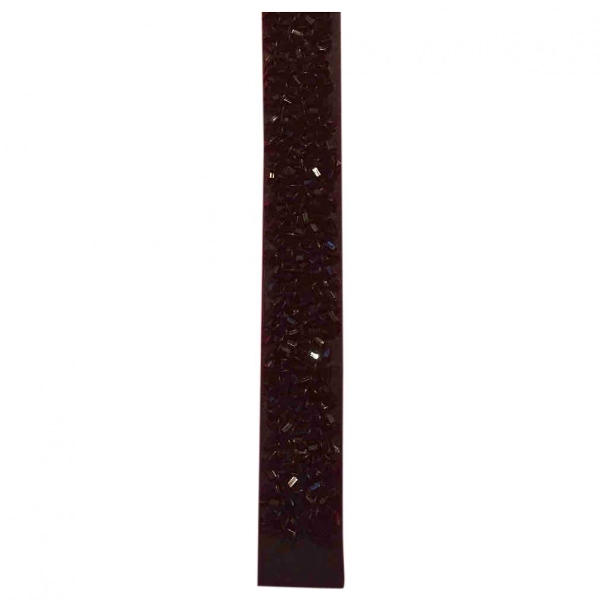 Poiray - Montre Bracelet Ma Premiere pour femme en cuir - noir