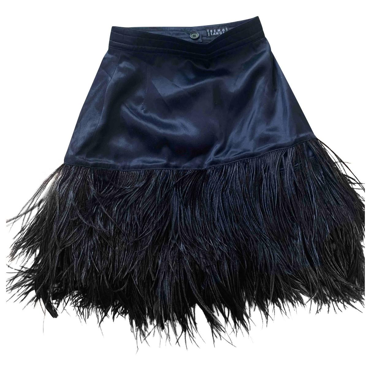 Rena Lange - Jupe   pour femme en soie - noir