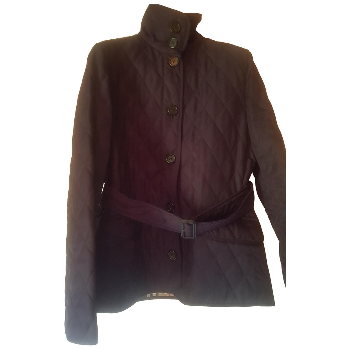 Burberry - Veste   pour femme en coton - marron