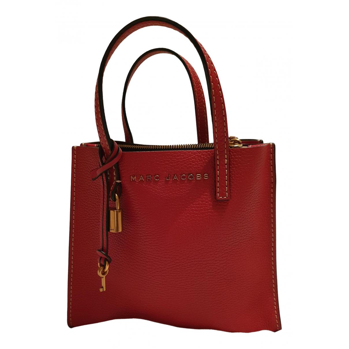 Marc Jacobs N Red Leather handbag for Women N
