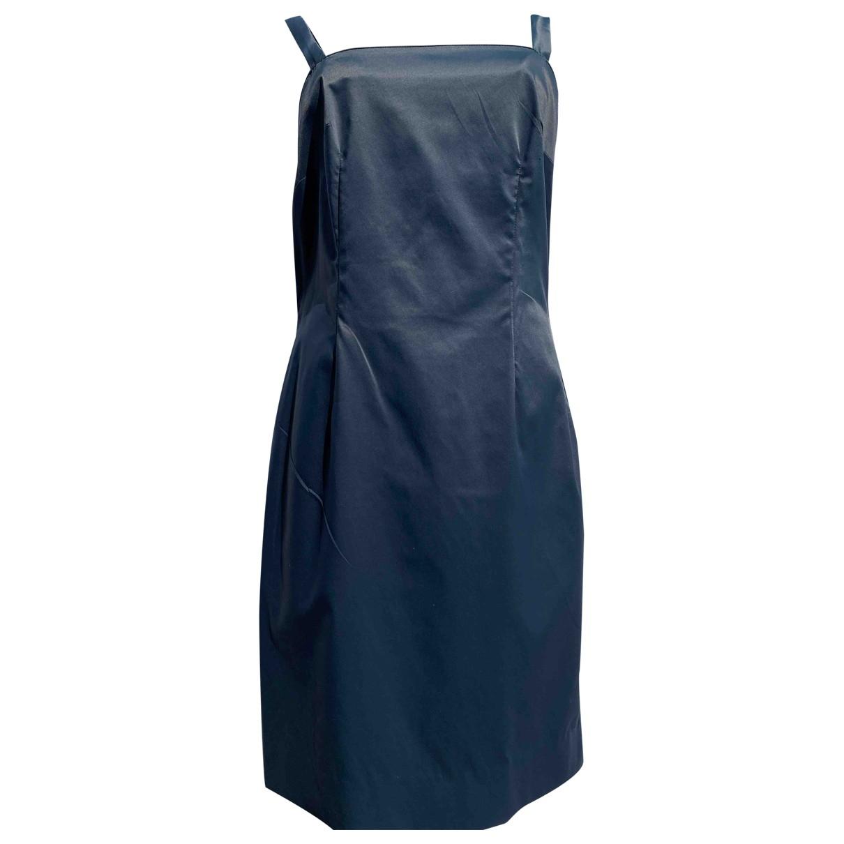 Fendi \N Blue Cotton - elasthane dress for Women 42 IT