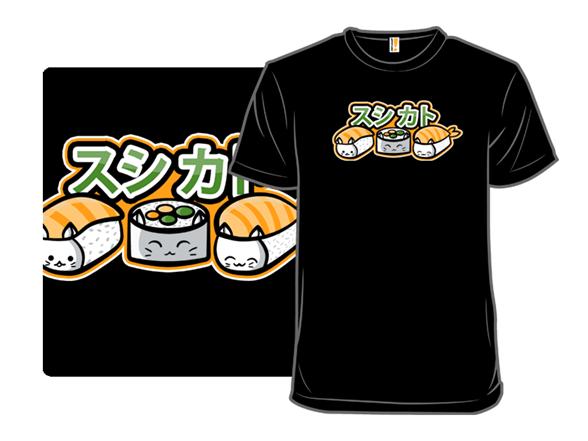 Sushi Cats T Shirt