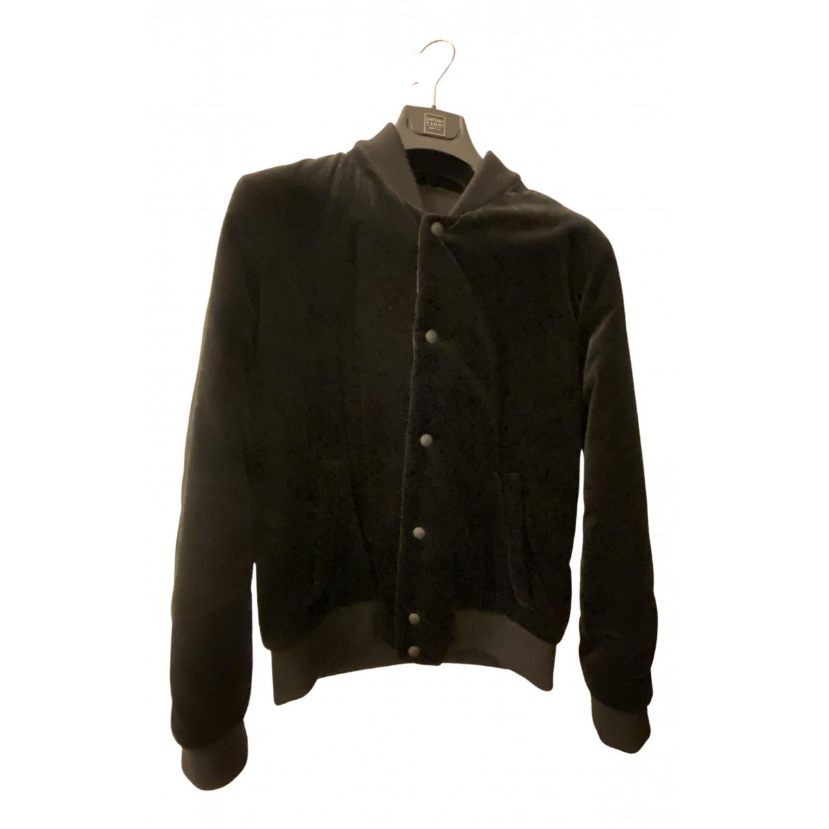 Givenchy - Vestes.Blousons   pour homme en coton - noir