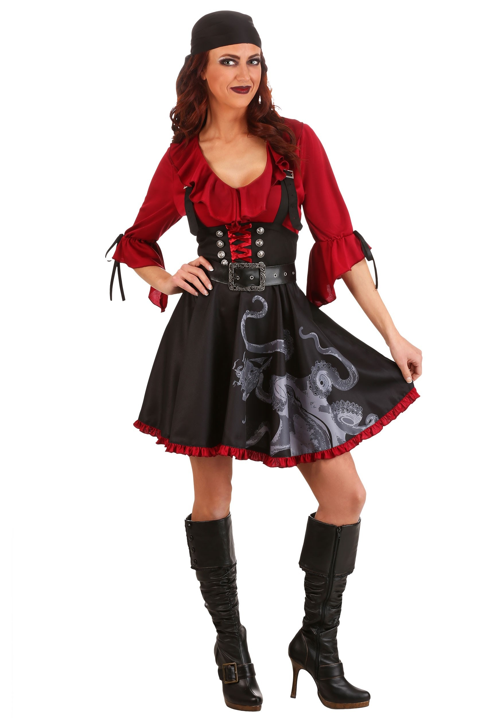 Pretty Privateer Costume for Adults
