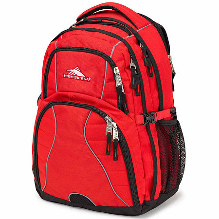 High Sierra Swerve Backpack, One Size , Red