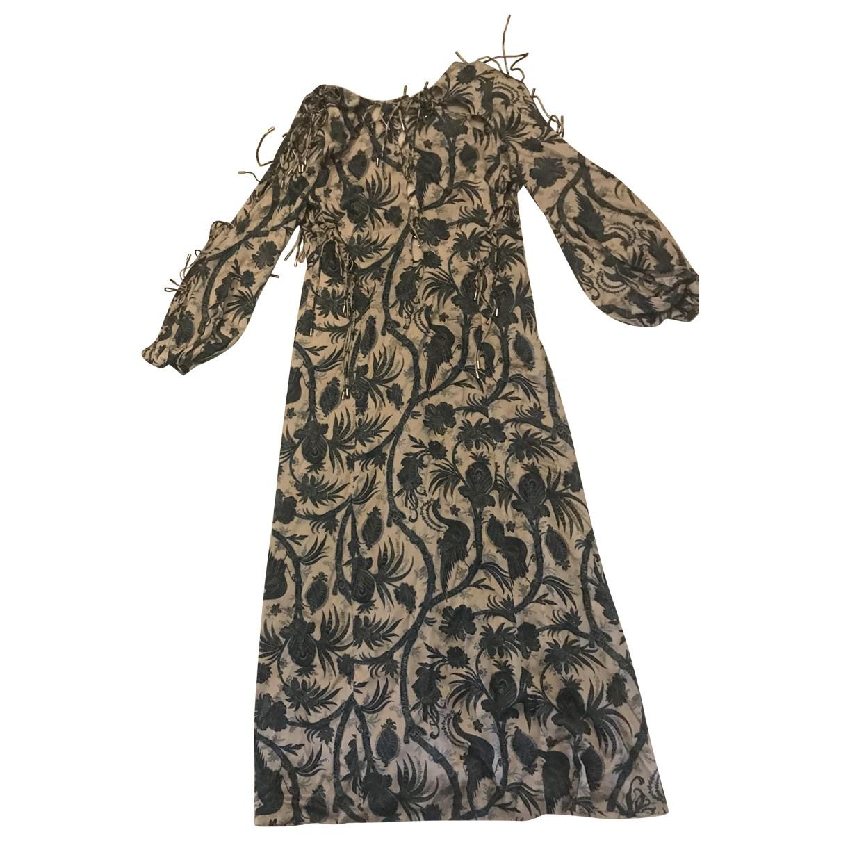 Zimmermann \N Multicolour Silk dress for Women 36 FR