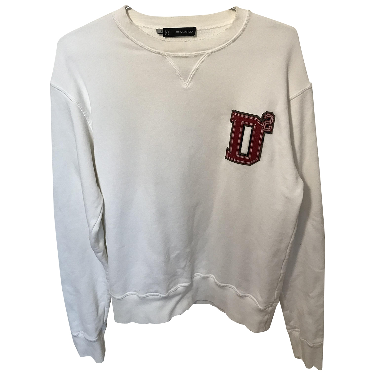 Dsquared2 \N White Cotton Knitwear & Sweatshirts for Men S International