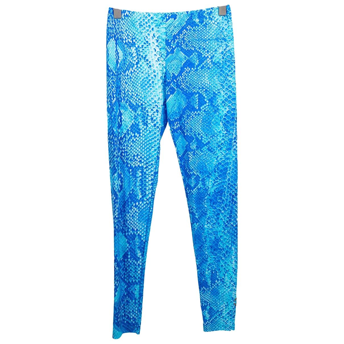 Roberto Cavalli - Pantalon   pour femme - bleu