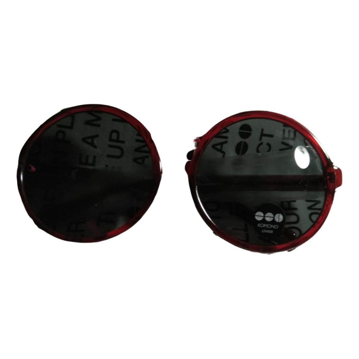Komono - Lunettes   pour femme - rouge