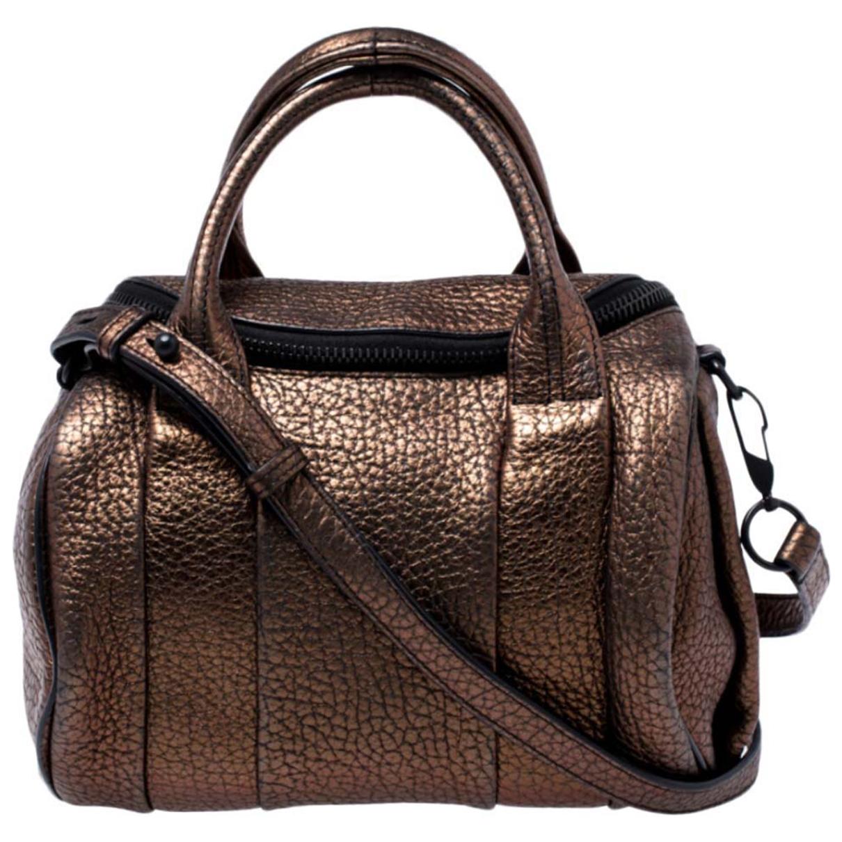 Alexander Wang Rockie Metallic Leather handbag for Women \N