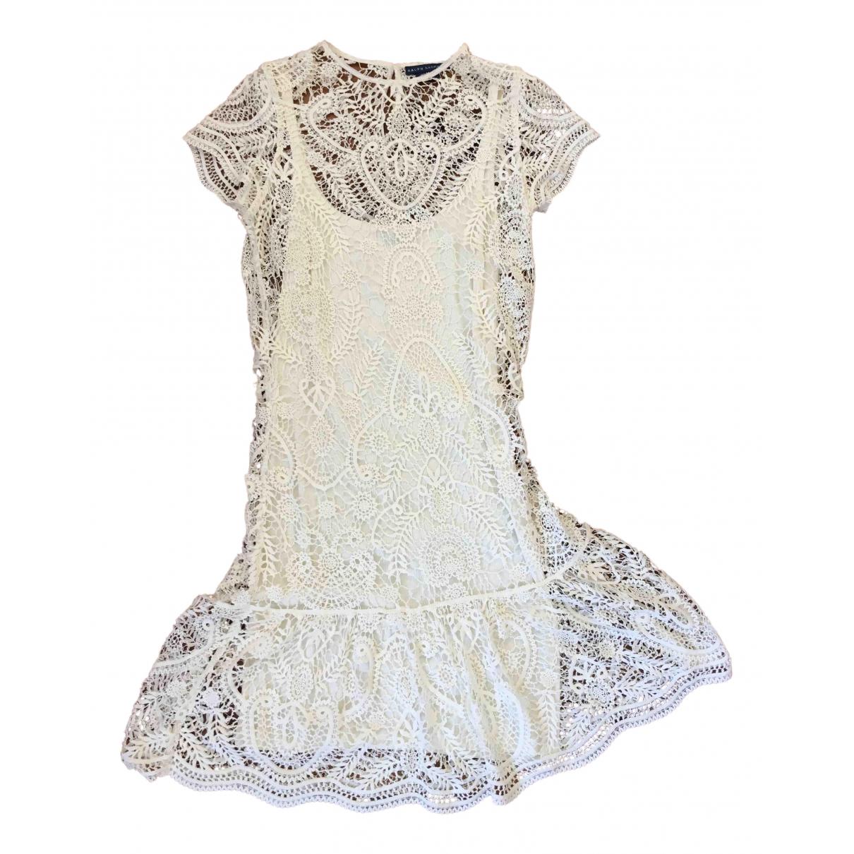 Ralph Lauren N White Cotton dress for Women M International
