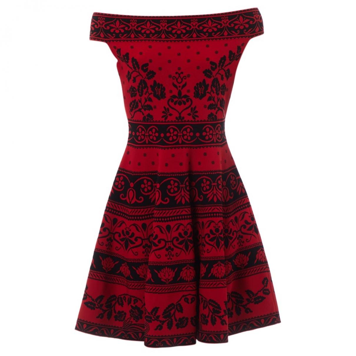 Alexander Mcqueen \N Red dress for Women L International