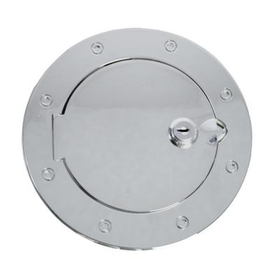 Rugged Ridge Locking Fuel Hatch Cover (Polished Stainless Steel) - 11134.03