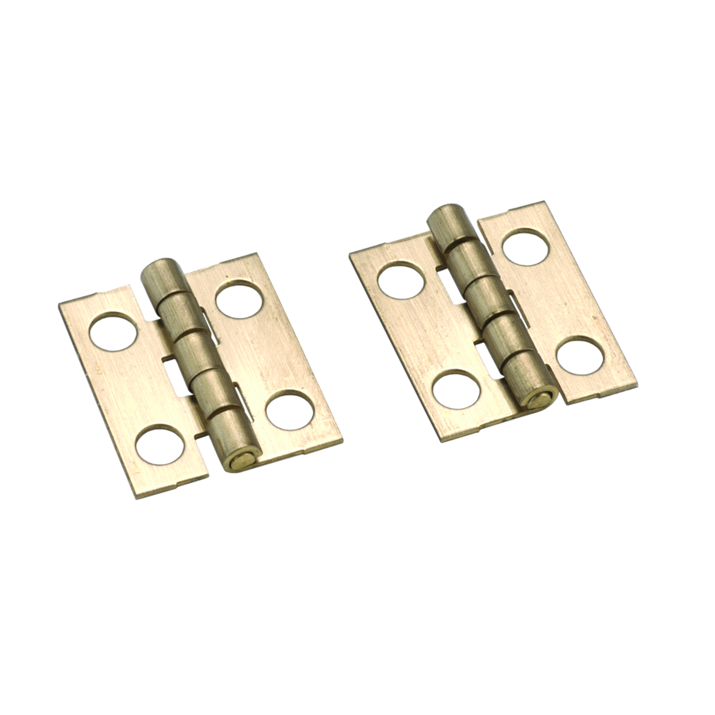 Stanley Solid Brass Ab Miniature Narrow Hinge 3/4