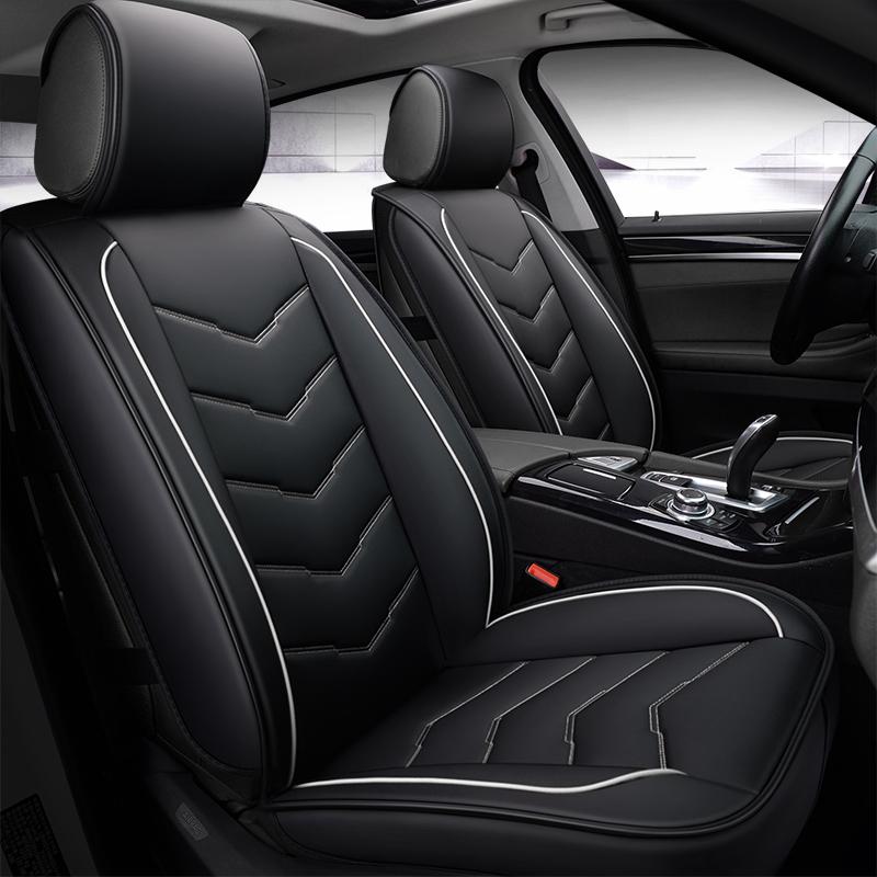 Bright Stripe Design Color Blocking Universal Car Seat Covers